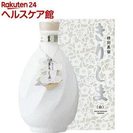 霧島酒造 特別蒸留きりしま 白 40度(720ml)