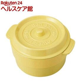 ココポット ラウンド ライトレモン T-76405(1コ入)[お弁当箱]