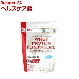 ファインラボ ホエイプロテイン ピュアアイソレート プレーン風味(1kg)【spts9】【ファインラボ】