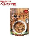 メープルシロップ味のオーツ麦と大麦のグラノーラ(240g)