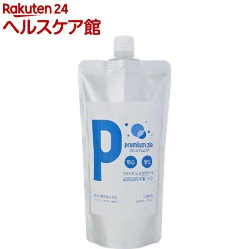 プレミアムジア 除菌・消臭スプレー 詰替用(500mL)【プレミアムジア】