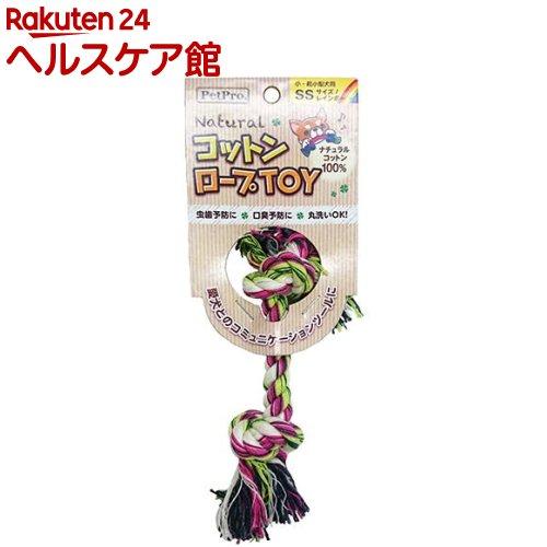 ペットプロ ナチュラルコットンロープTOY SS レインボー(1コ入)【ペットプロ(PetPro)】