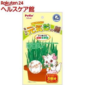 ペティオ ネコの元気草の種(15g*5包入)【ペティオ(Petio)】
