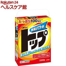 無リントップ 粉末洗剤(3.2kg)【トップ】