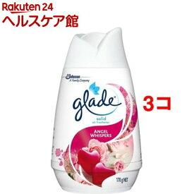 グレード ソリッドエアフレッシュナー エンジェルウィスパー(170g*3コセット)【グレード(Glade)】