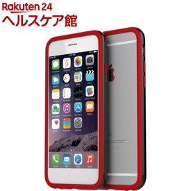 アラリー iPhone6 ヒューバンパー ブラック+レッド AR4606i6(1コ入)【アラリー(araree)】