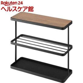 サイドテーブル タワー ブラック(1コ入)【タワー(日用品)】