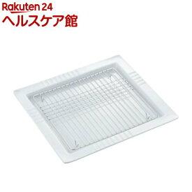 日本製のスクエアディッシュ アミ付 36287(1コ入)