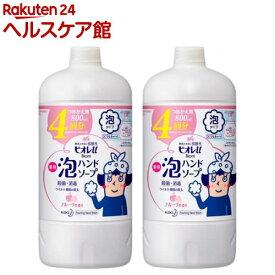 ビオレu 薬用泡ハンドソープ フルーツの香り つめかえ用(800ml*2コセット)【ビオレU(ビオレユー)】