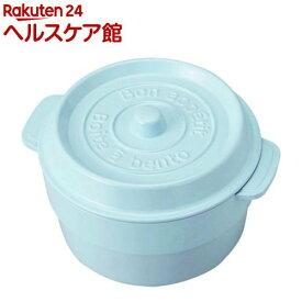 ココポット ラウンド マーメイドブルー T-76407(1コ入)[お弁当箱]
