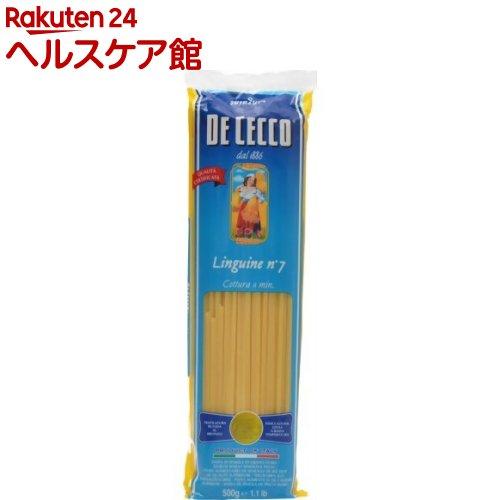ディチェコ No.7 リングイーネ(500g)【ディチェコ(DE CECCO)】