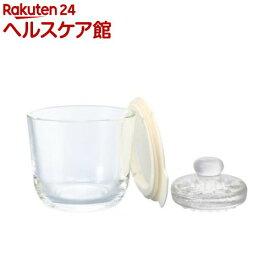 ハリオ ガラスの一夜漬け器 S オフホワイト(1コ入)【ハリオ(HARIO)】