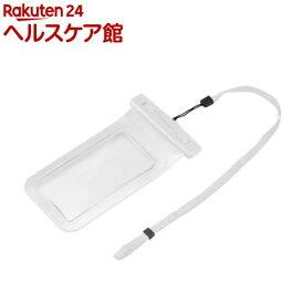 グリーンハウス スマートフォン用防水ケース ホワイト GH-WPCAW(1コ入)【グリーンハウス(GREEN HOUSE)】