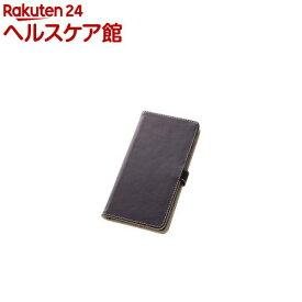 レイアウト Xperia Z3用 ブックカバー 合皮/ダークブラウン RT-SO01GLBC1/DK(1コ入)【レイ・アウト】
