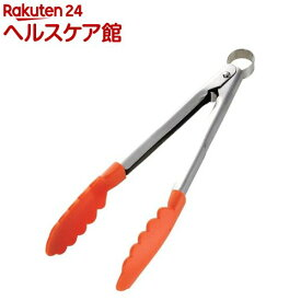 イージーウォッシュ ナイロンクッキングトング 24cm オレンジ(1コ入)【イージーウォッシュ】