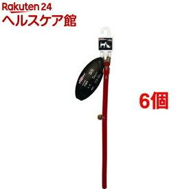 ベルベット首輪 10mm(6個セット)【キャティーマン】