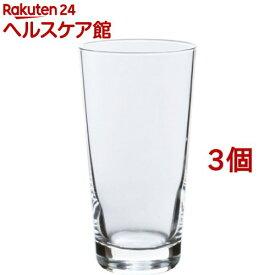 生活定番 ロングタンブラー 食洗機対応 日本製 約420ml B-10201HS-JAN-P(3個セット)【生活定番】