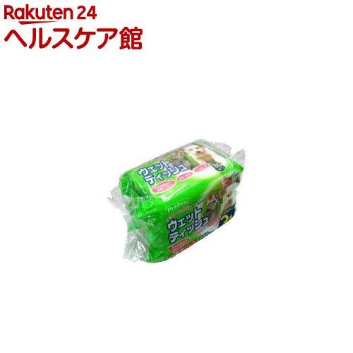 ペットプロ ウェットティッシュ(80枚*3コ入)【14_k】【ペットプロ(PetPro)】