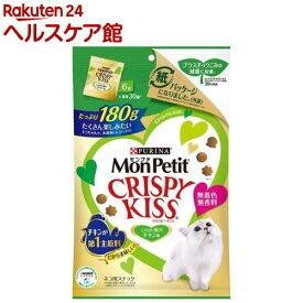 モンプチ クリスピーキッス とびきり贅沢チキン味(180g)【dalc_monpetit】【モンプチ】