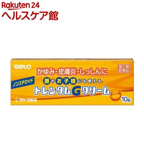 【第2類医薬品】トレンタムGクリーム(セルフメディケーション税制対象)(10g)【トレンタム】