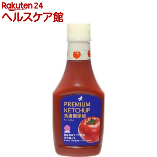 ライフプロモート PREMIUM ケチャップ 食塩無添加(300g)【ライフプロモート】