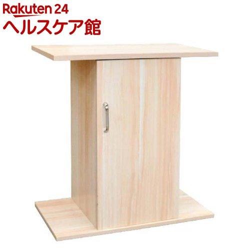 扉付キャビネット 610S シロ 木目(1コ入)【送料無料】
