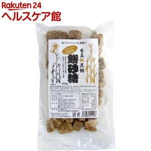 奄美純黒糖 餅砂糖(300g)【奄美自然食本舗】