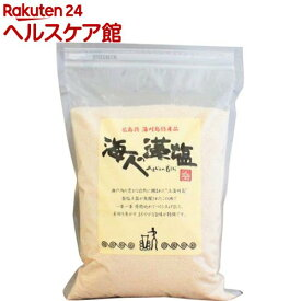海人の藻塩(1kg)【朋和商事】