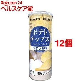 ポテトチップス うすしお味(80g*12コセット)