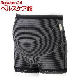 犬印 ガードル妊婦帯 HB8363 チャコールグレー Lサイズ(1枚入)【犬印】