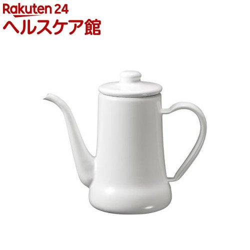 月兎印 スリムポット 0.7L ホワイト(1コ入)【送料無料】