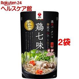 盛田 鶏七味鍋つゆ(600g*2袋セット)【盛田(MORITA)】