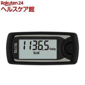タニタ 活動量計カロリズム ブラック AM-161-BK(1台)【タニタ(TANITA)】
