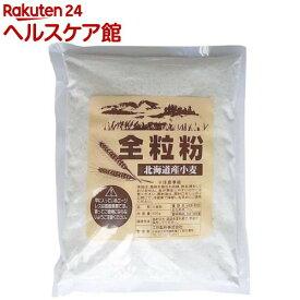 江別製粉 北海道産小麦 全粒粉(強力粉)(500g)【江別製粉】