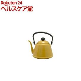 野田琺瑯 ドリップケトルII キャメル DK-200CA(1コ入)【zaiko_20_more】【野田琺瑯】