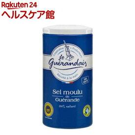 ゲランドの塩 細粒塩 容器入(125g)【オルタートレードジャパン】