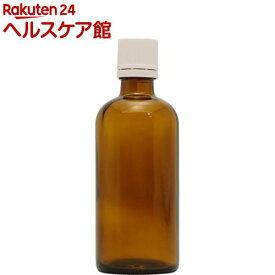 フレーバーライフ 遮光瓶 茶 ドロッパー付 100ml(1コ入)