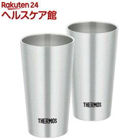 サーモス 真空断熱タンブラー ステンレス JDI-300P S(2コ入)【サーモス(THERMOS)】