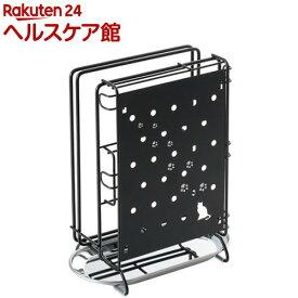 クロネコキッチン 包丁・まな板・キッチンばさみスタンド 1305628(1コ入)