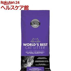 猫砂 ワールドベストキャットリッター マルチキャットクランピング<ラベンダー>(12.7kg)【ワールドベストキャットリッター(WBCL)】