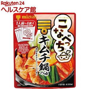 ミツカン こなべっち キムチ鍋つゆ(36g*4コ入)【ミツカン】