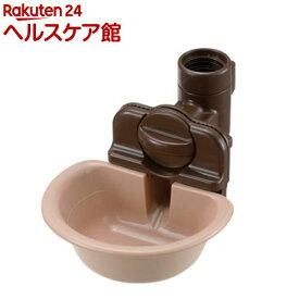 リッチェル ペット用 ウォーターディッシュ ブラウン Sサイズ(1コ入)
