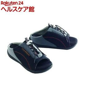 勝野式 ドクターアーチスニーカー ブラック L(1足)【勝野式】