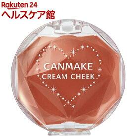 キャンメイク(CANMAKE) クリームチーク 17 キャラメルラテ(1個)【キャンメイク(CANMAKE)】