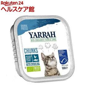 ヤラー チキンと魚のキャットチャンク(100g)【more30】【ヤラー】[キャットフード]