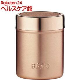 BARISTA&CO 6BC008-003 ココアシェーカー EL.CP 400ml(1コ入)