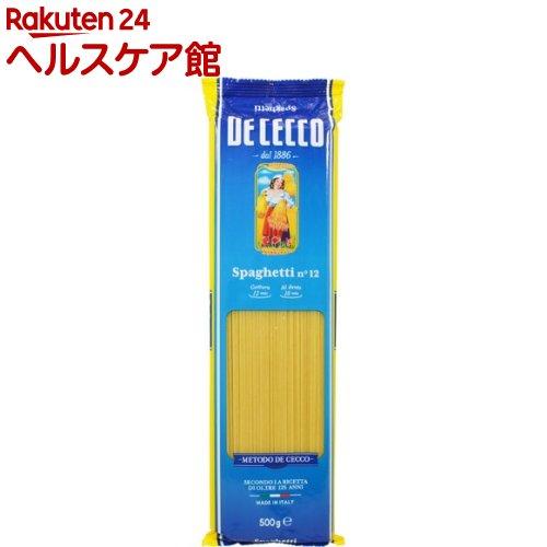 ディチェコ No.12 スパゲッティ(500g)【ディチェコ(DE CECCO)】