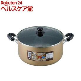 おおらか鍋 IH対応 深型両手鍋 30cm OR-7129(1コ入)