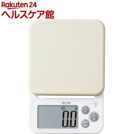 タニタ デジタルクッキングスケール KJ-212-WH ホワイト(1台)【タニタ(TANITA)】