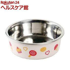 ドギーマン ステンレス食器ごはんにゃわん 犬用 ミニ ピンク(1コ入)【ドギーマン(Doggy Man)】